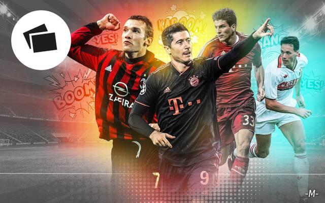 Knipsen wie sie wollen: DIe Top-Torjäger der Champions League