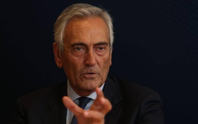 Verbandschef Gabriele Gravina will keinen Liga-Stopp zulassen