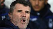 WEST BROMWICH, ENGLAND - FEBRUARY 12: Notts Forest  assistant Roy Keane looks on during the Sky Bet Championship EPL match between West Bromwich Albion and Nottingham Forest at The Hawthorns on February 12, 2019 in West Bromwich, England. (Photo by Stu Forster/Getty Images)