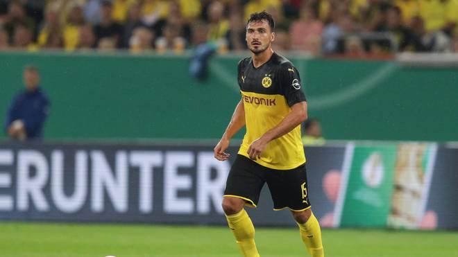 Mats Hummels bekommt gegen Bremen wohl eine Pause