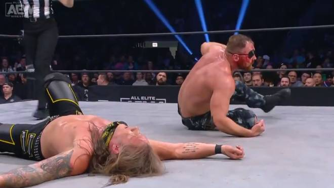 Jon Moxley und Chris Jericho traten um die AEW World Championship an
