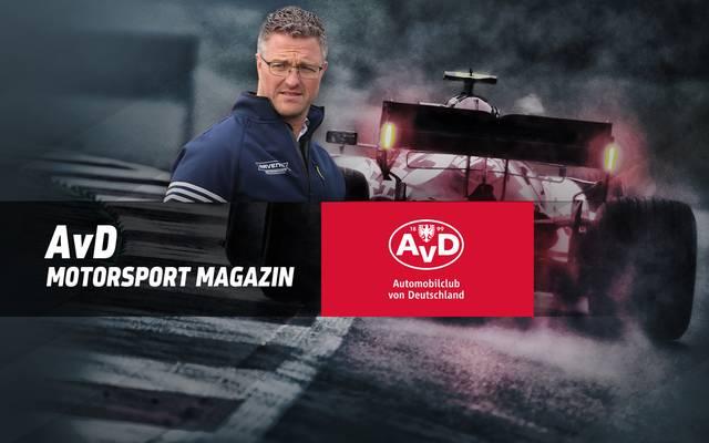 Ralf Schumacher ist  zu Gast im AvD Motorsport Magazin