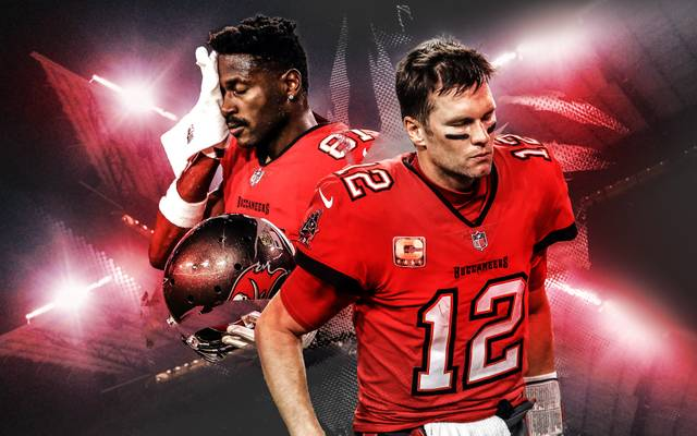 Wiedervereint mit NFL-Superstar Tom Brady bei den Bucs: Skandal-Football-Profi Antonio Brown