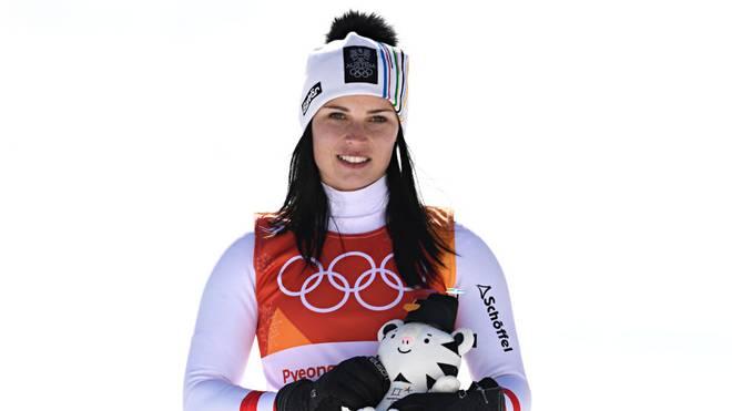 Anna Veith gewann in ihrer Karriere unter anderem drei WM-Titel