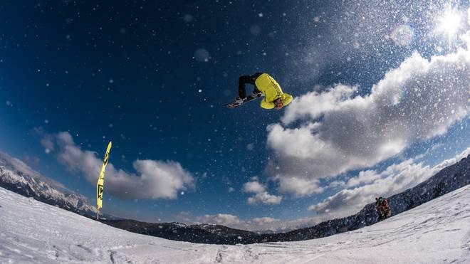 Nitro Teamshoot im Nitro Snowpark Leogang