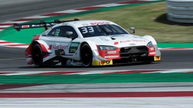 Audi-Quartett in Front: Rene Rast holt die Samstag-Pole in Misano