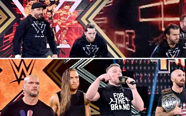 Die Rückkehr der NXT-Stars verursacht Chaos