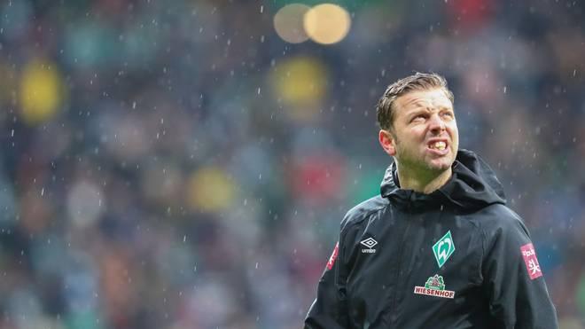 Florian Kohfeldt steckt mit Werder Bremen tief in der Krise