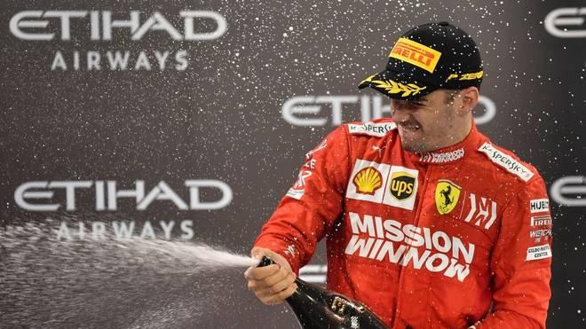 Charles Leclerc bleibt Ferrari langfristig erhalten