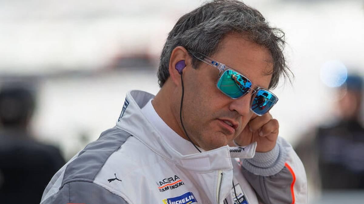 Juan Pablo Montoya geht bei den 24 Stunden von Le Mans an den Start