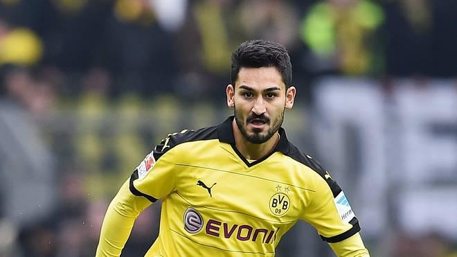 Ilkay Gündogan besitzt bei Borussia Dortmund noch einen Vertrag bis Juni 2017