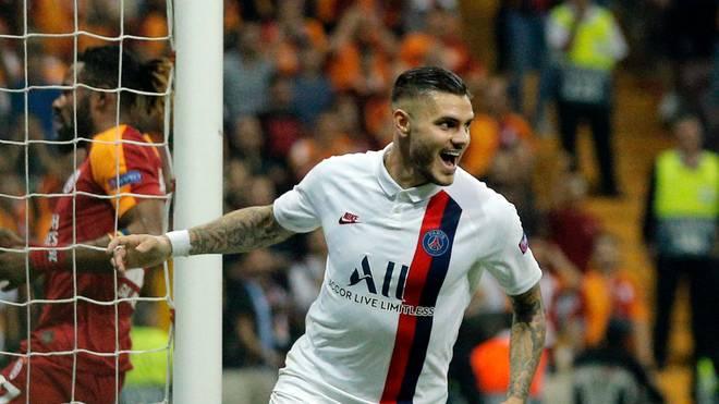 Mauro Icardi traf für Paris Saint-Germain gegen Galatasaray