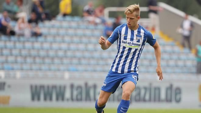 Arne Maier startet für Hertha BSC in der Europa League