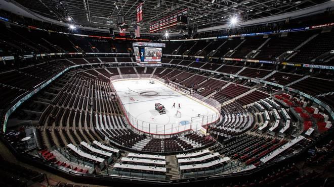 Das Ottawa Tire Centre ist die Heimspielstätte der Ottawa Senators