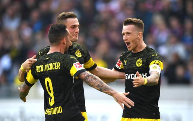 Borussia Dortmund kommt aus dem Feiern nicht mehr heraus