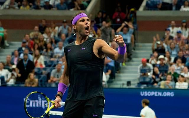 Rafael Nadal hat die US Open gewonnen