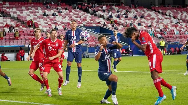 Kingsley Coman (r.) erzielte im Finale die Bayern-Führung