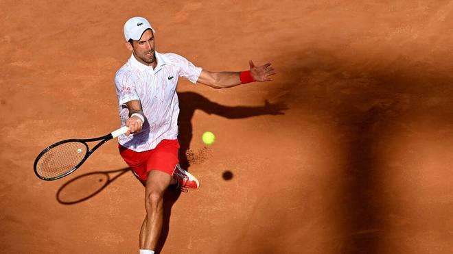 Novak Djokovic steht im Finale der Italian Open