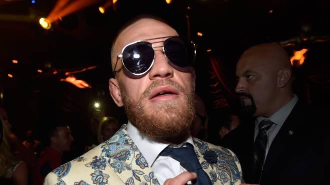 Conor McGregor weilte am Samstag bei einer UFC-Veranstaltung in Polen