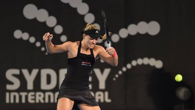 Angelique Kerber scheidet im Viertelfinale des WTA-Turniers in Sydney aus