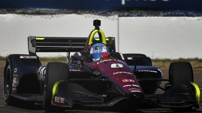 Robert Wickens tat es Sebastien Bourdais gleich: Pole im ersten IndyCar-Rennen!