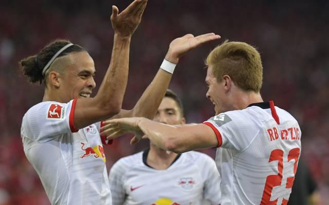 RB Leipzig trifft am 2. Spieltag der Bundesliga auf Frankfurt