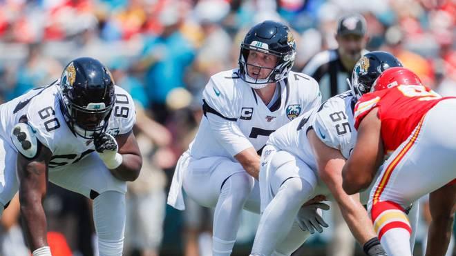 Nick Foles machte sein erstes Spiel für die Jacksonville Jaguars