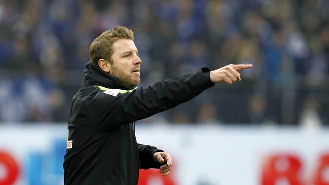 Bremens Trainer Florian Kohfeldt ist mit seinem Kader schon ziemlich zufrieden