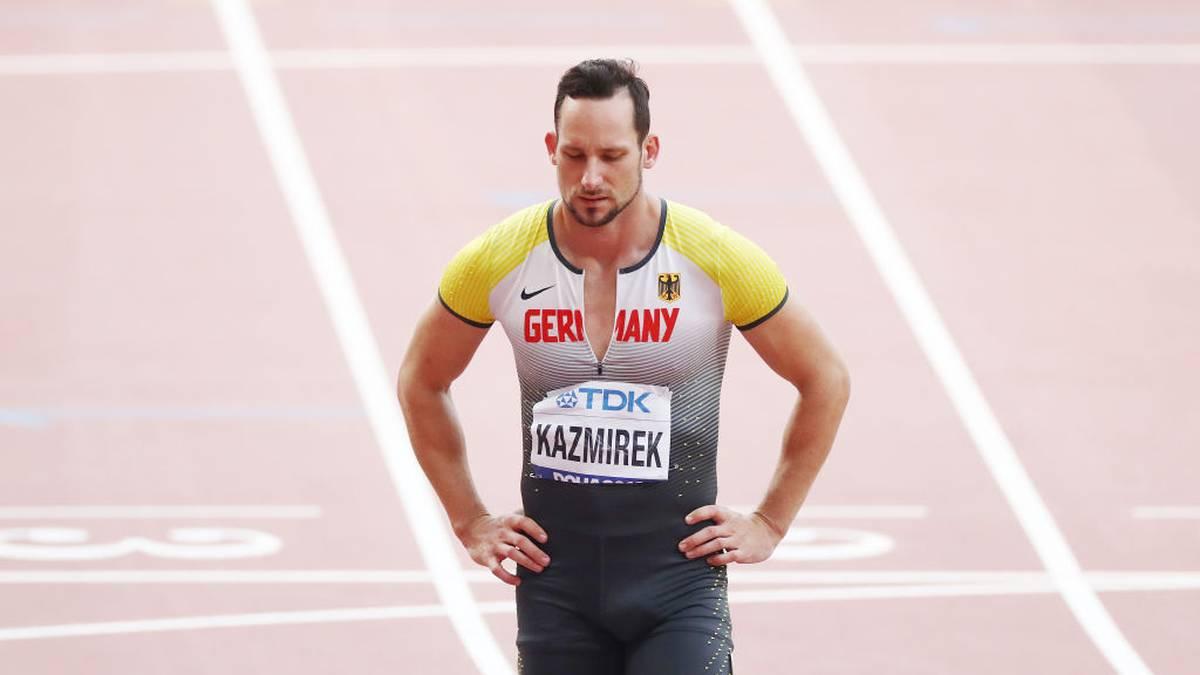 Kai Kazmirek scheidet in Doha über 110m Hürden aus