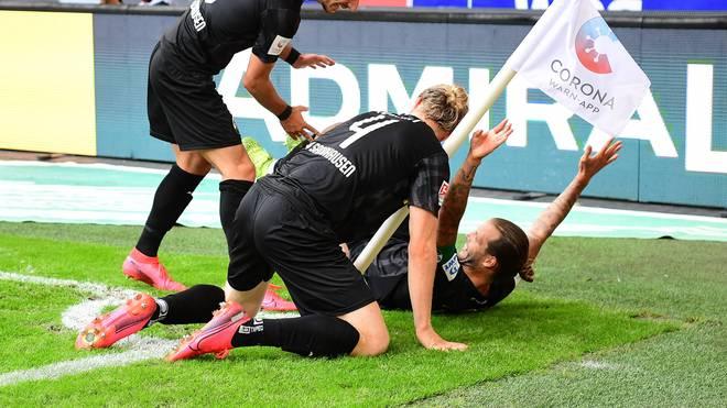 So bejubelte Dennis Diekmeier sein Tor gegen den Ex-Klub
