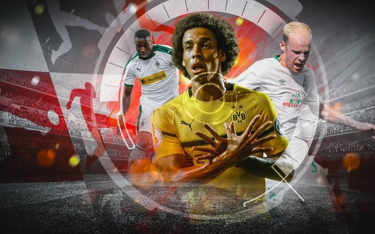 """Fast 450 Millionen Euro haben die 18 Klubs der Bundesliga bislang für neue Spieler ausgegeben. SPORT1 zeigt die """"Players to watch"""" - die Bundesliga-Neulinge, die Sie in der neuen Saison auf dem Zettel haben sollten"""
