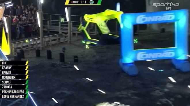 Die Drone Champions League machte am Samstag im Salzwerk von Turda Station
