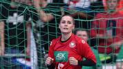 Dinah Eckerle zeigte gegen Brasilien eine überragende Leistung