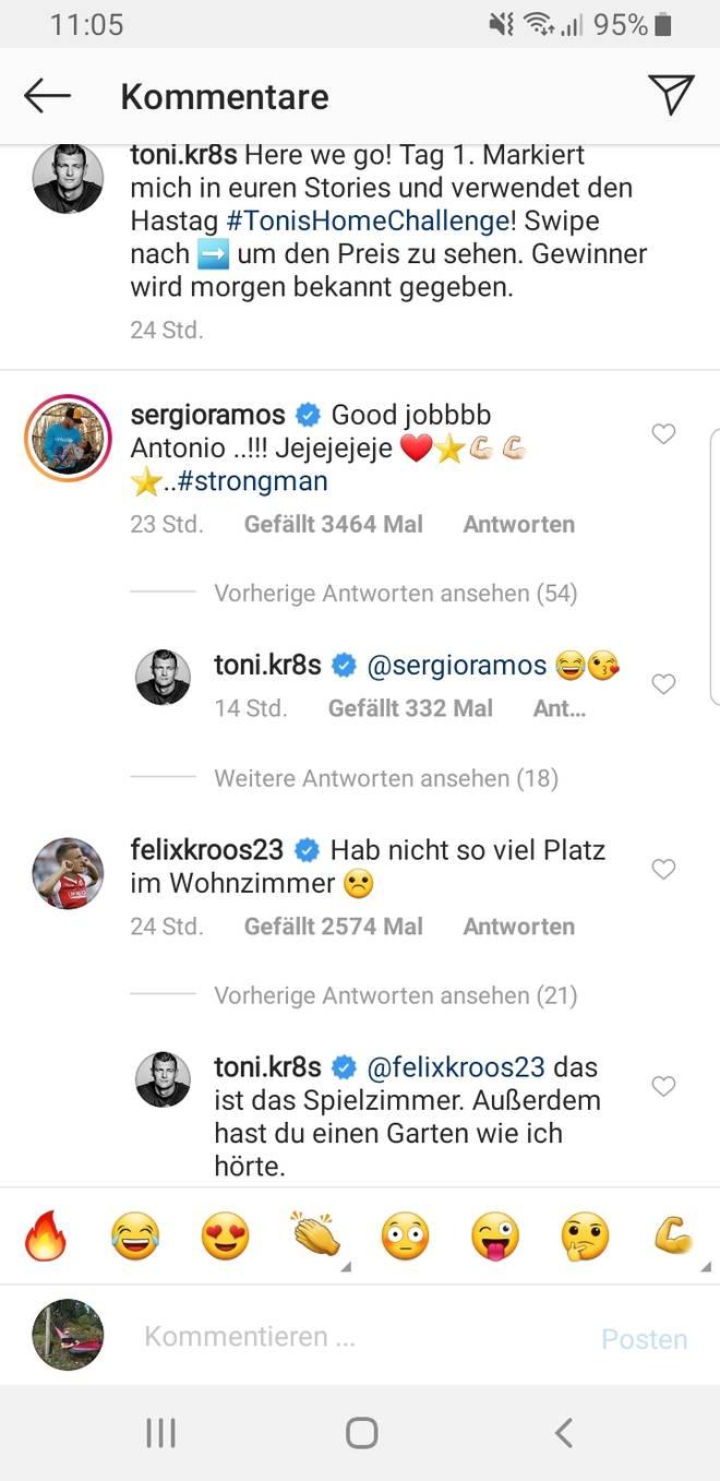 Toni Kroos reagierte auf seinen Bruder Felix