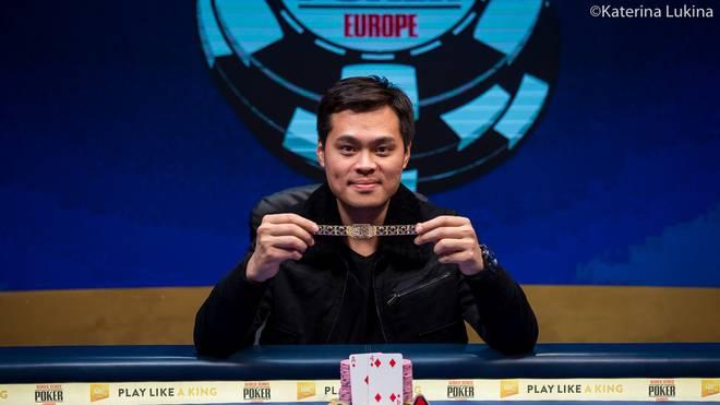James Chen feierte den größten Erfolg seiner Karriere