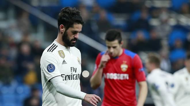 Isco durchlebt bei Real Madrid derzeit eine schwere Zeit