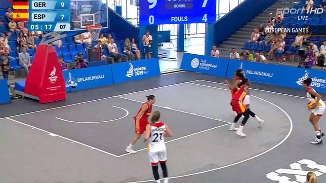 Deutschland steht im 3x3-Basketball im Halbfinale