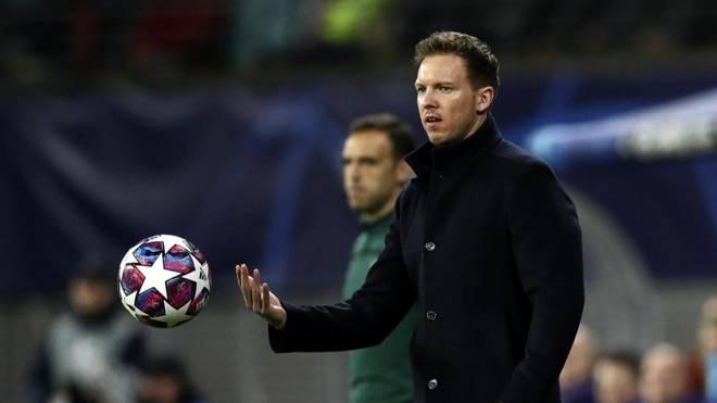 Julian Nagelsmann ist seit 2019 Trainer bei RB Leipzig