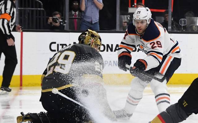 Leon Draisaitl verliert mit den Oilers gegen die Vegas Golden Knights