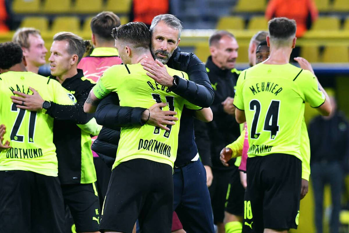 Während der BVB gegen Sporting einen Arbeitssieg einfährt, patzt Leipzig zu Hause gegen Brügge. Die Stimmen der deutschen Protagonisten.