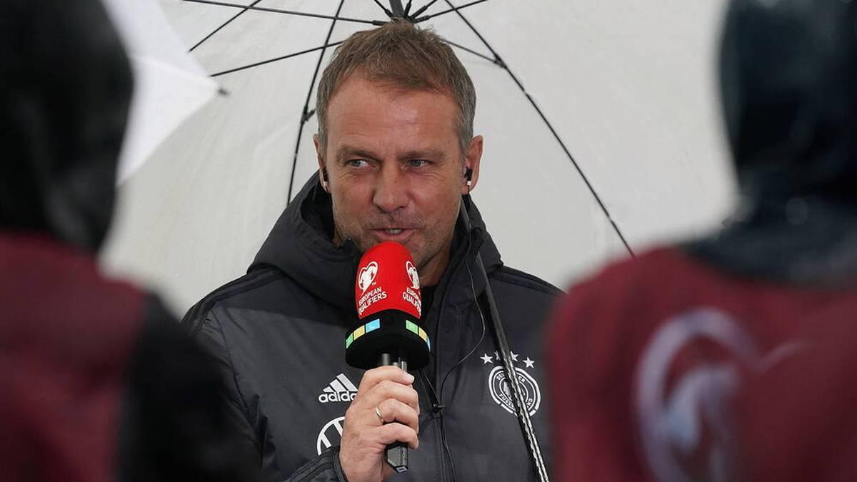 Hansi Flick gewann seine ersten fünf Spiele als Bundestrainer