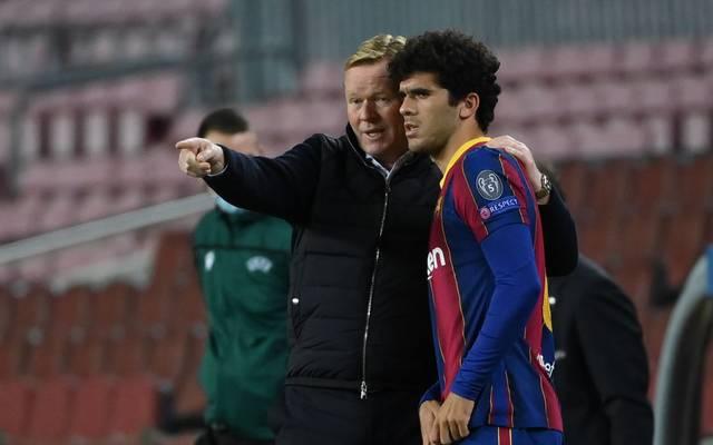 Carles Alena (r.) speilte unter Ronald Koeman bisher nur eine Nebenrolle