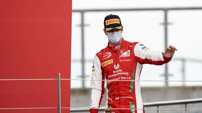 Mick Schumacher gehört der Jugendakademie von Ferrari an