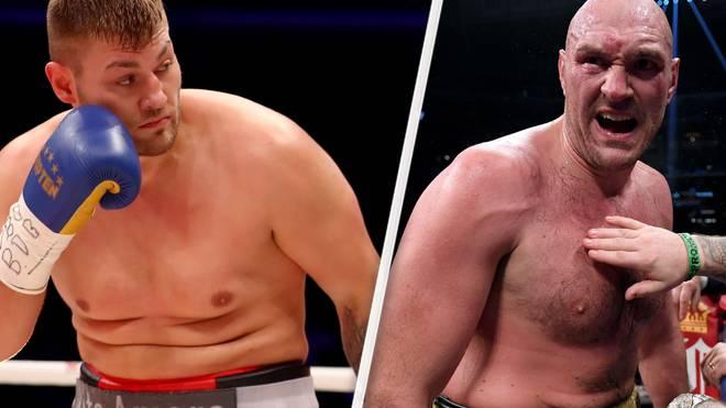 Tom Schwarz (l.) bekommt eine große Chance gegen Topstar Tyson Fury