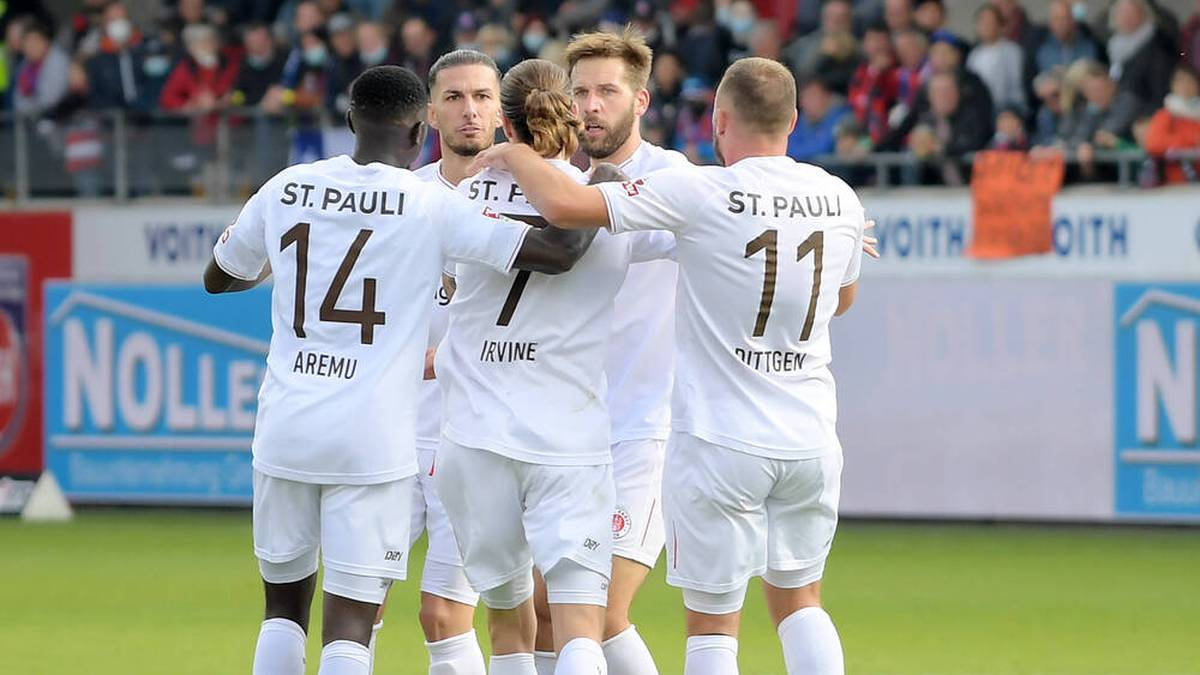 Fünf-Minuten-Wahnsinn! St. Pauli fertigt Heidenheim ab