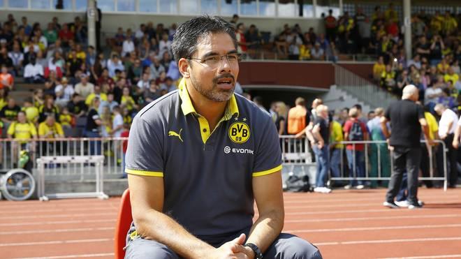 Coach David Wagner erhält Verstärkung Borussia Dortmund II v Jahn Regensburg - 3. Liga