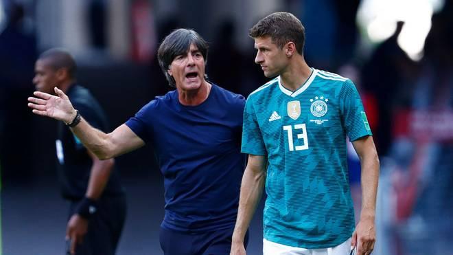 Bundestrainer Joachim Löw setzt in der Nationalmannschaft nicht mehr auf Thomas Müller