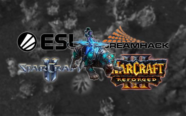 ESL/Dreamhack: Neue StarCraft II und Warcraft III Turnierserien