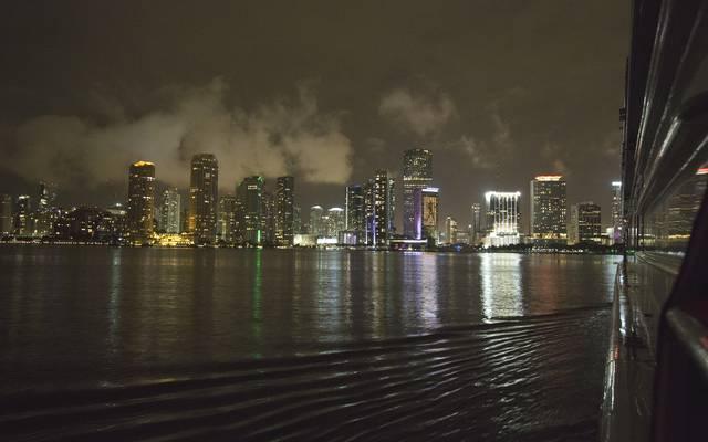 Die Skyline von Miami wird frühestens 2020 zur Kulisse für F1-Rennen werden