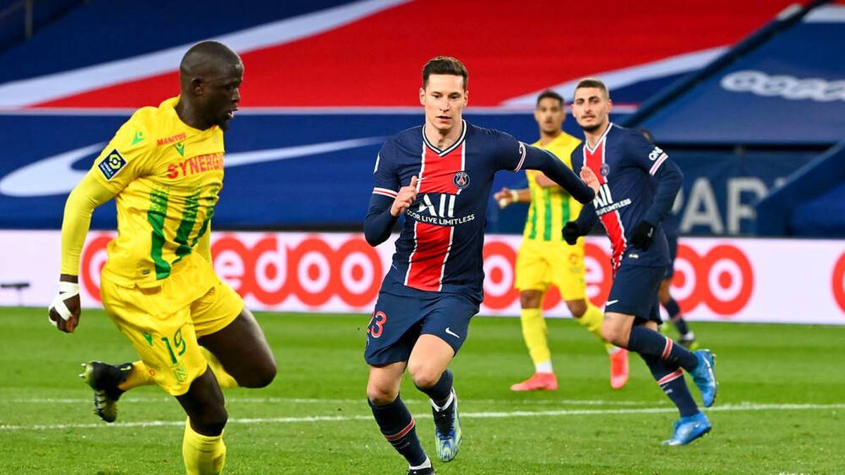 Trotz Draxlers Tor - PSG blamiert sich nach Mbappé-Aussetzer